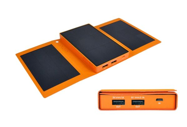 SolPro is a portable solar charger,