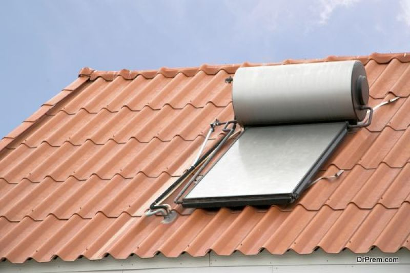 Install solar energy