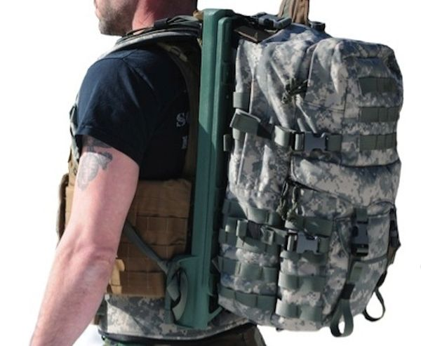 Energy generating backpack