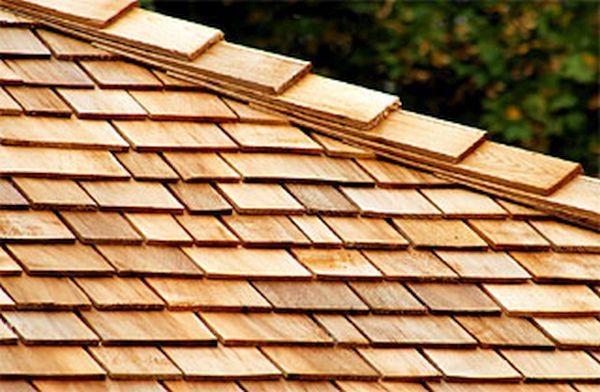 Sustainable Wood Shingle Roof