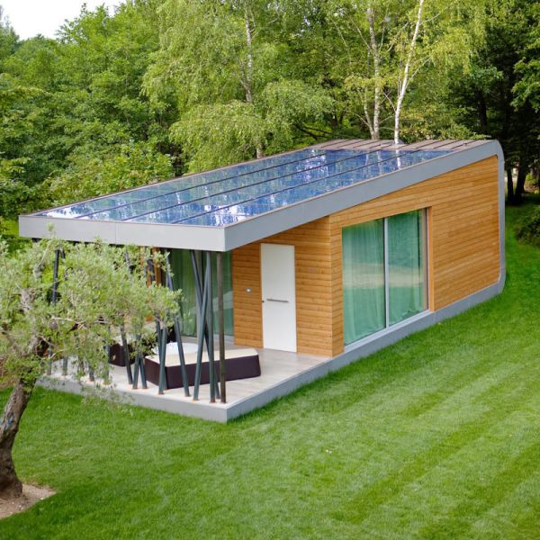 The Green Zero House