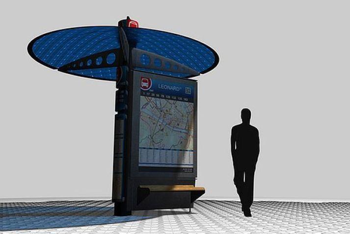 YBR Bus Shelter