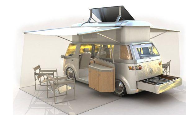 VW Westfalia Solar Powered Mobile Home