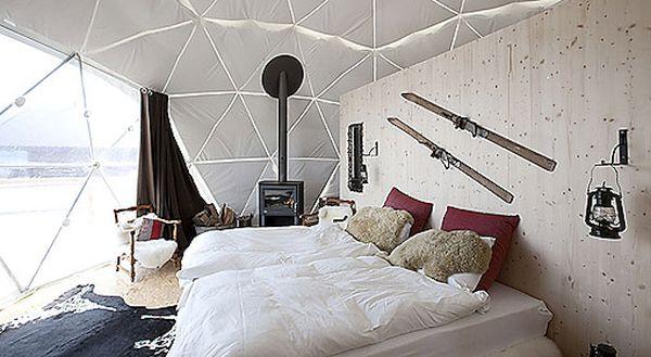 Whitepod Resort, the Swiss Alps