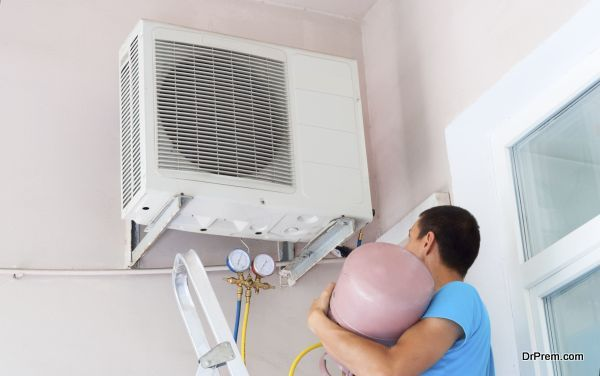 freon air conditioner refill