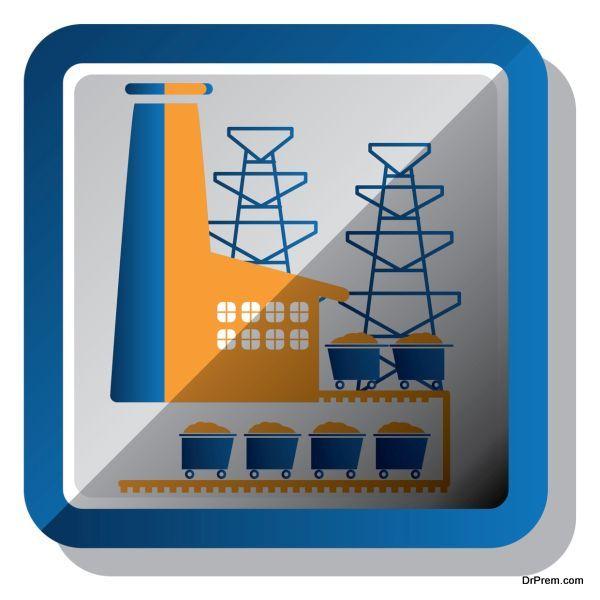 Carbon-capture coal plant