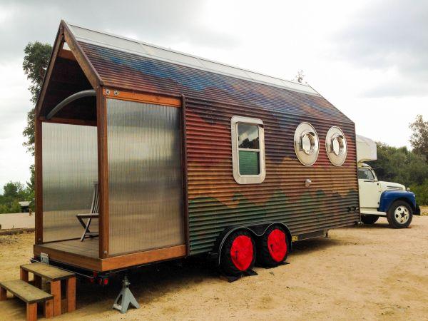 L.A. Artist Built a House with Salvaged Materials