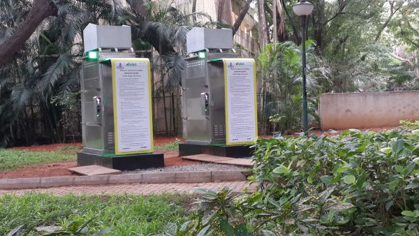 Solar Powered toilets by Eram Scientific