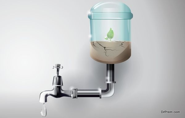 help save water and land resources