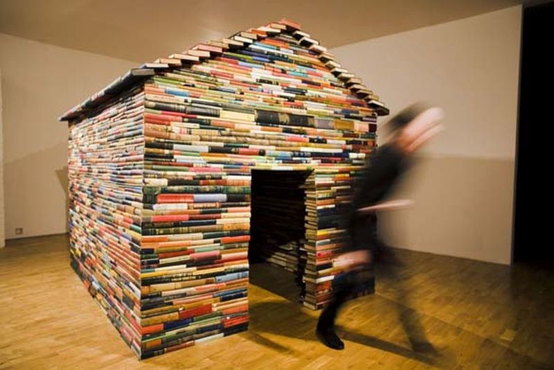 Recycled Book House