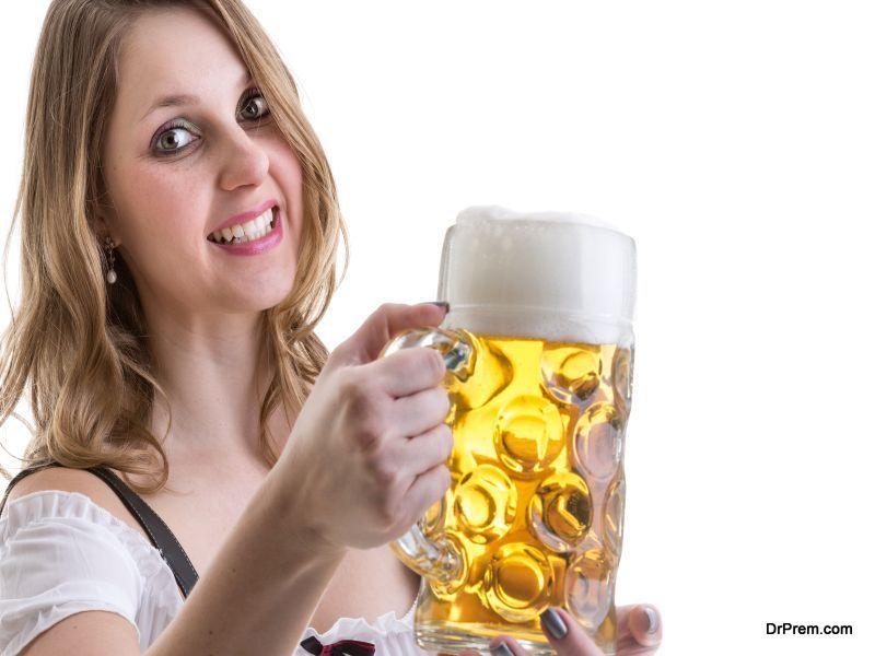 Choose tap water or beer