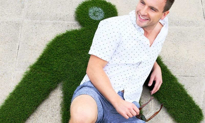 Lawnsie, the new portable lawn