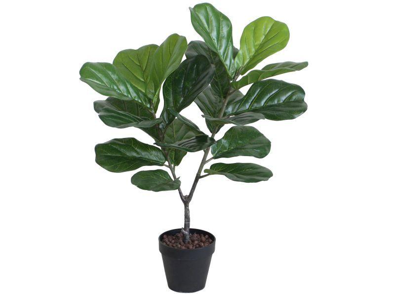 Faux Fiddle Leaf Plant