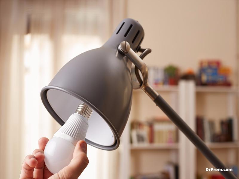 Use LED lights