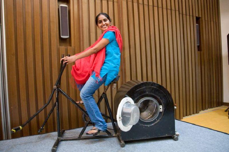 Eco-friendly washing machine