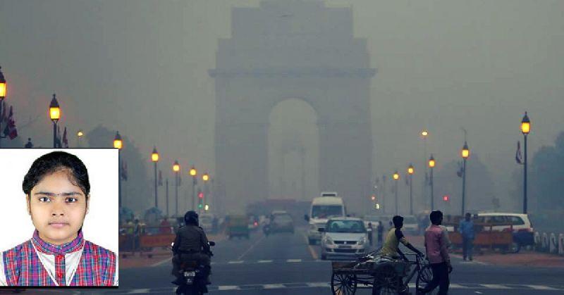 Pollution meter
