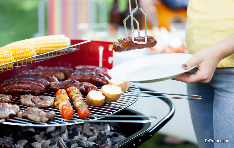 Summer-barbeque-set