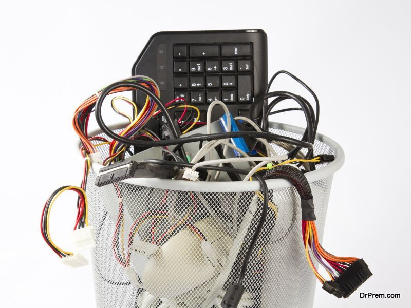 throwing away your electronic devices