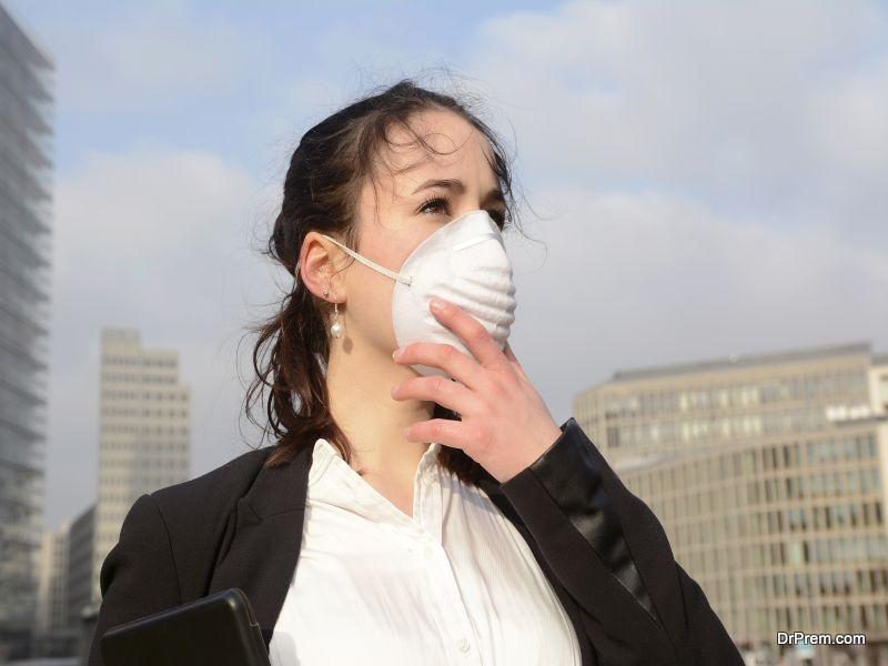Smog is a major problem