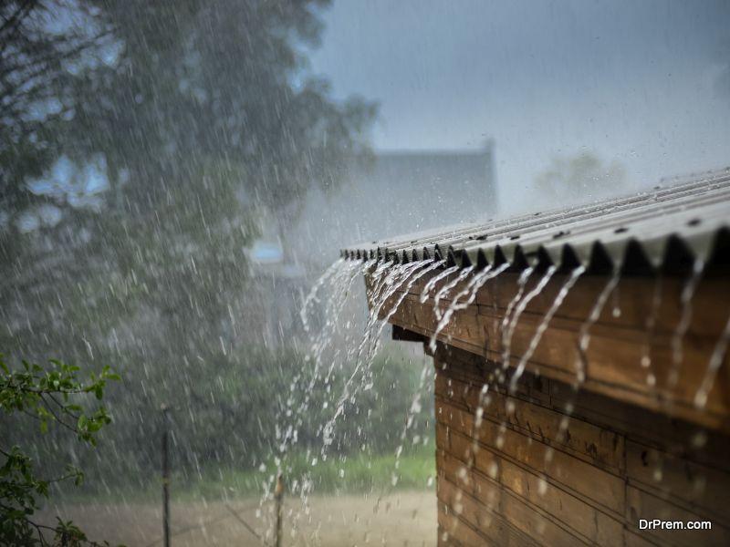 Changing rainfall patterns
