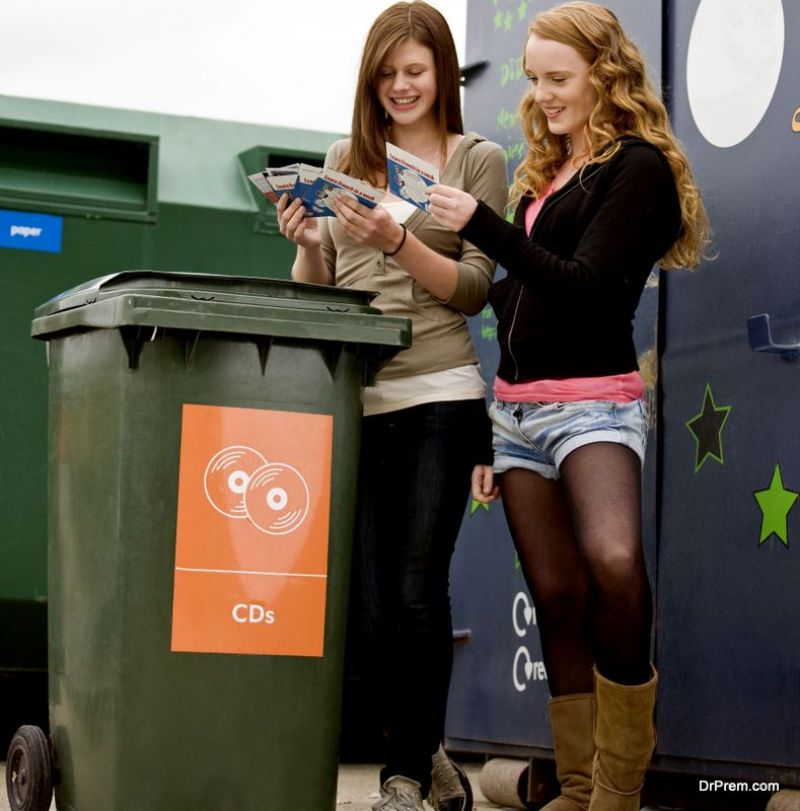 Focus on recycling waste.