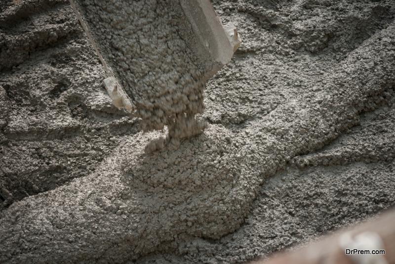 Use concrete