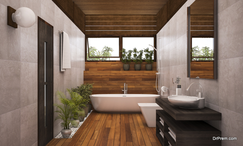 make your bathroom completely sustainable