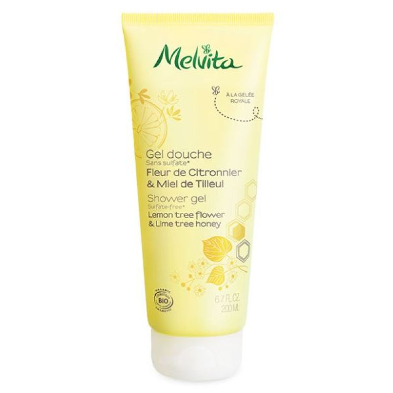 Melvita shower gels