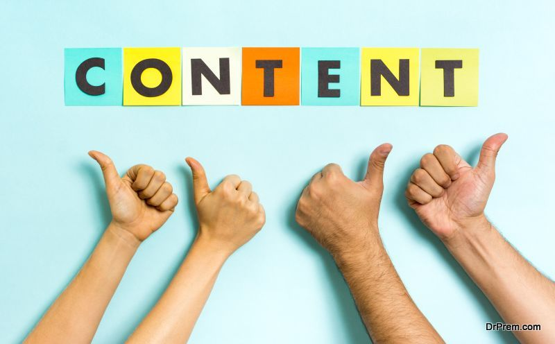 Add excellent content