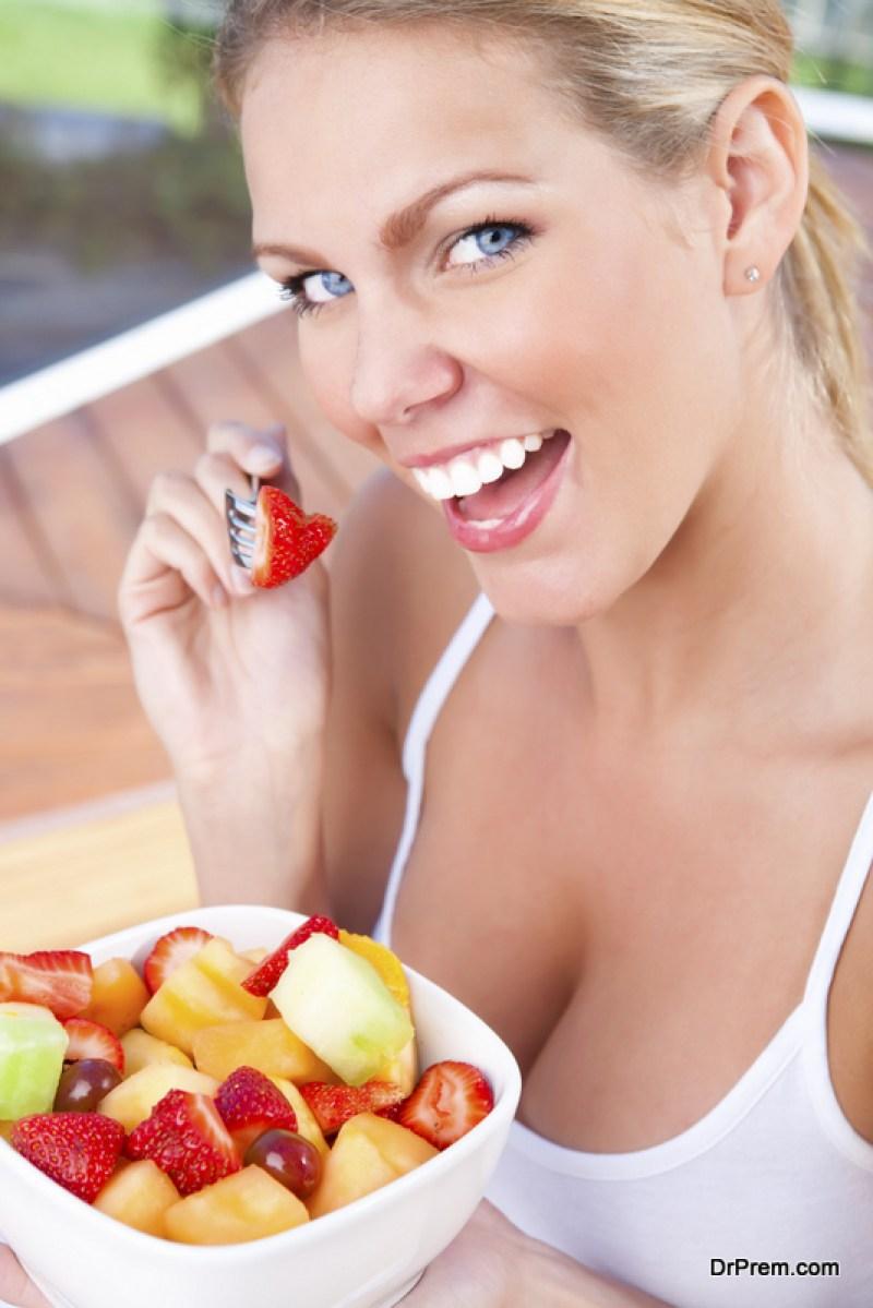 Focus on your diet-