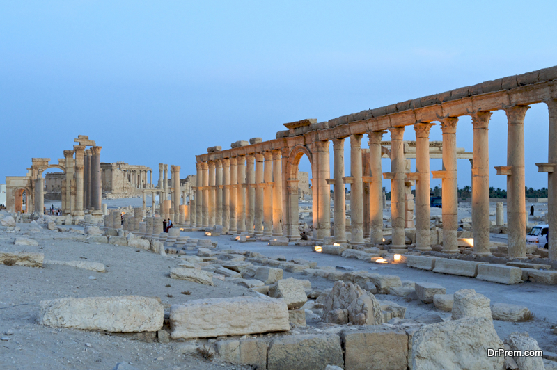 Palmyra-Syria.