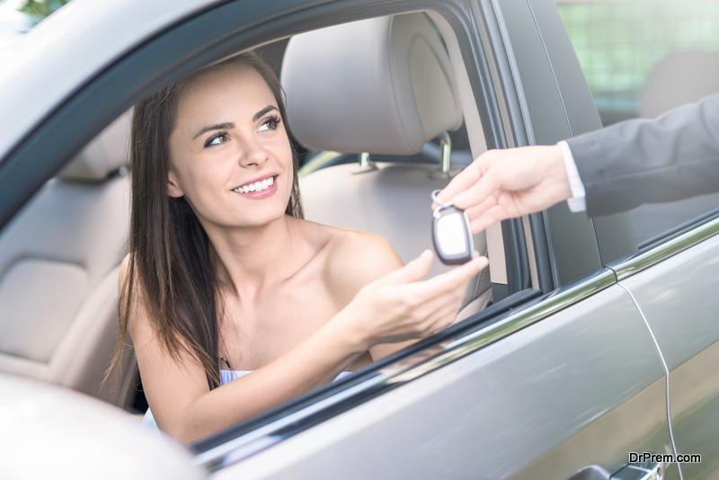 Renting car