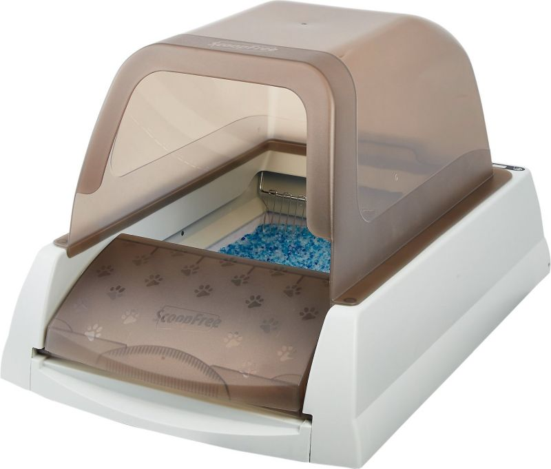 self cleaning cat box