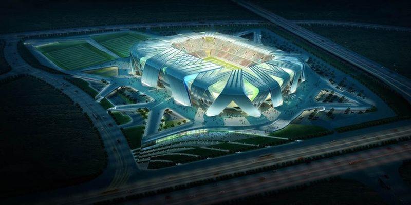 China's Dalian Shide Stadium