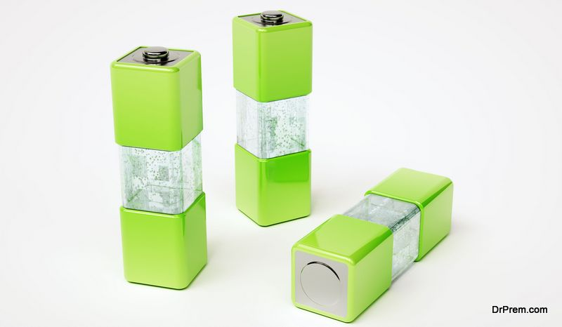 Hydrogen fuel cells produce energy which is completely green