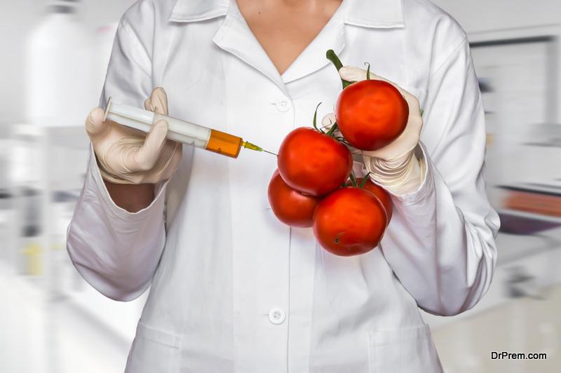 Hypo-allergenic GM tomatoes