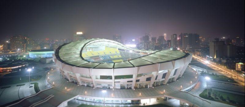 The Shanghai Stadium