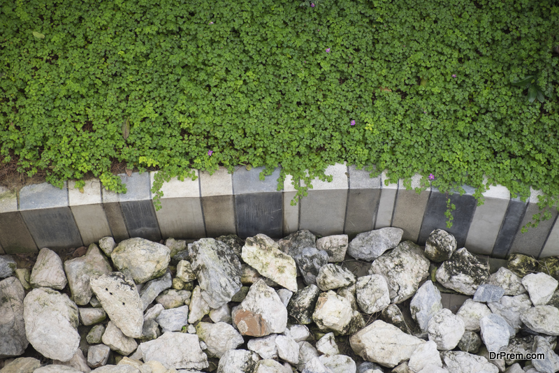 hardscaping is greener than traditional landscaping
