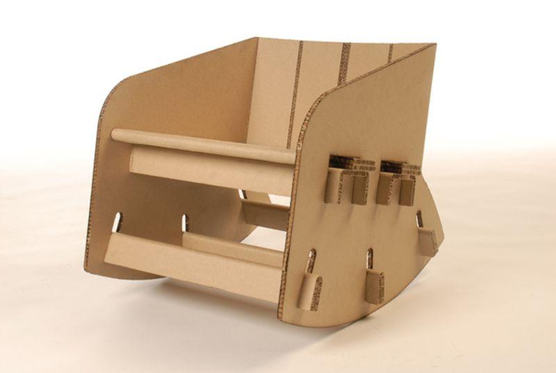 A Cardboard chair