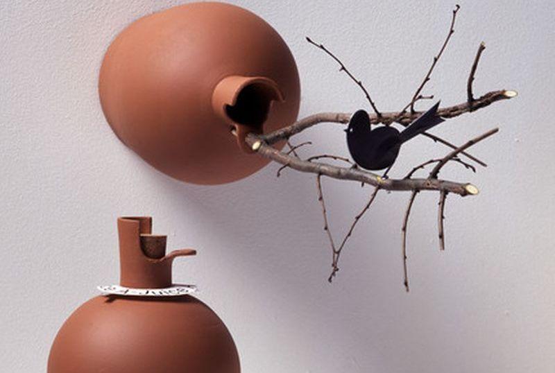 DIY recycled birdhouses