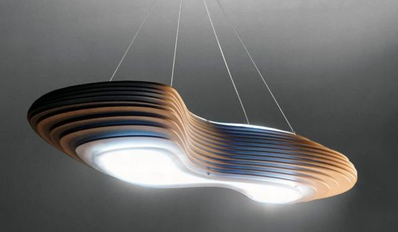 Integral Studio Vinaccia's new wooden lamps