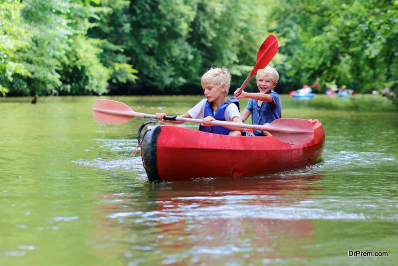 Spending Time in Nature Make Children Happier