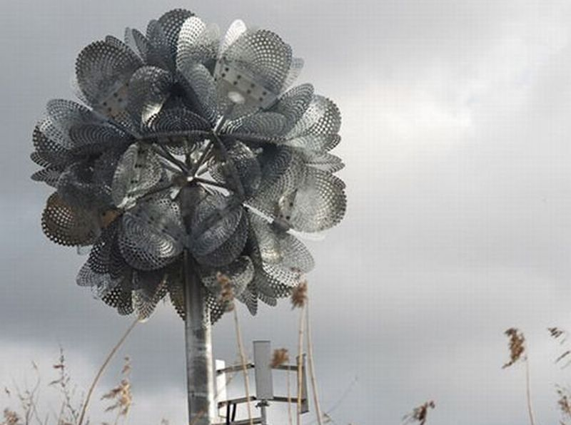 Future flower sculpture