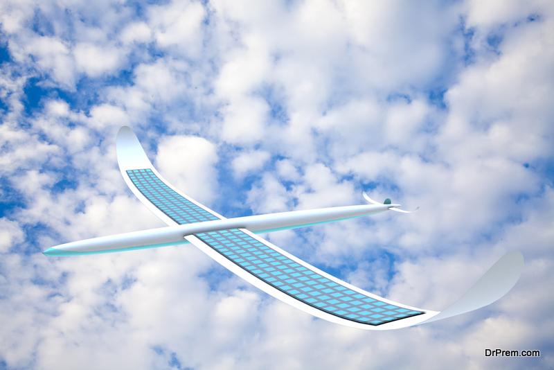Solar-powered aircraft