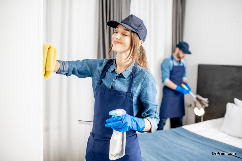 Use green cleaning solutions