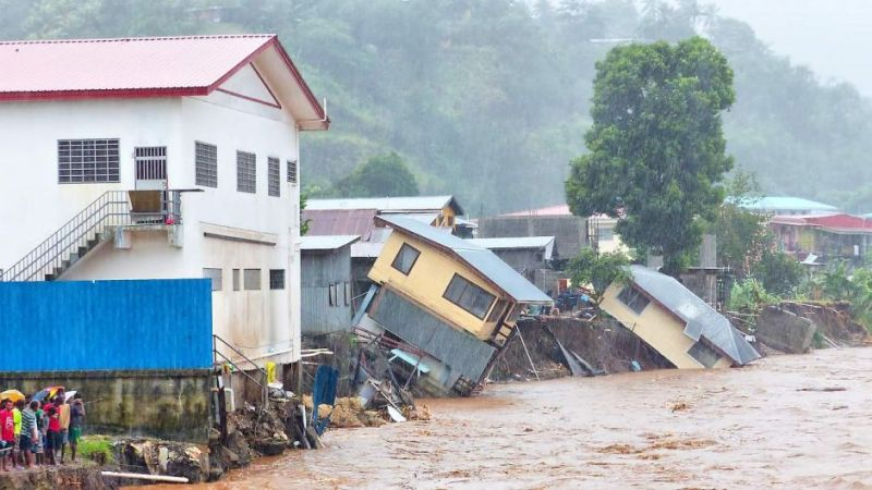 Solomon Islands floods 2014