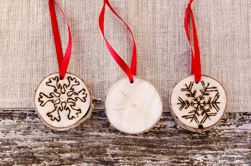 Wood ornaments