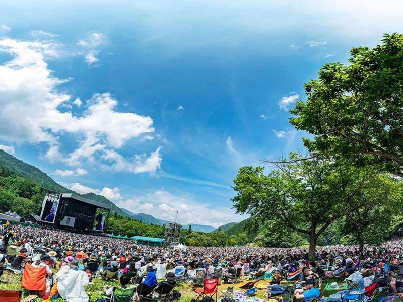 Fuji Rock, Japan festival