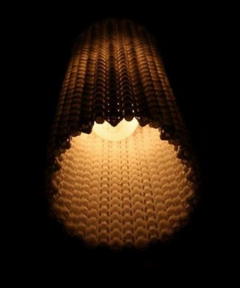 Mesmeric keyboard lamp