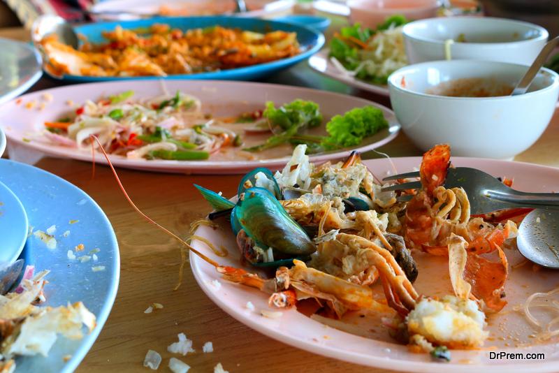 restaurant waste